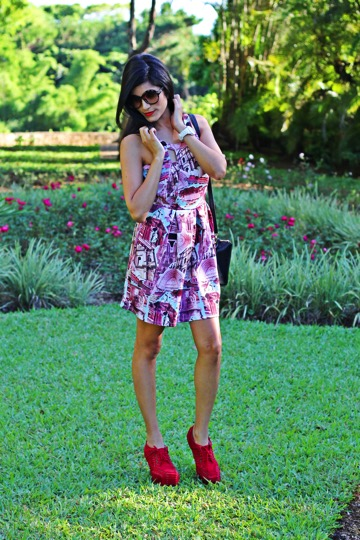 pink-flower-party-dress_red-heel-boots_my-infinity-style